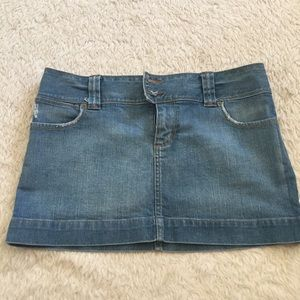 Vintage AEO jean skirt